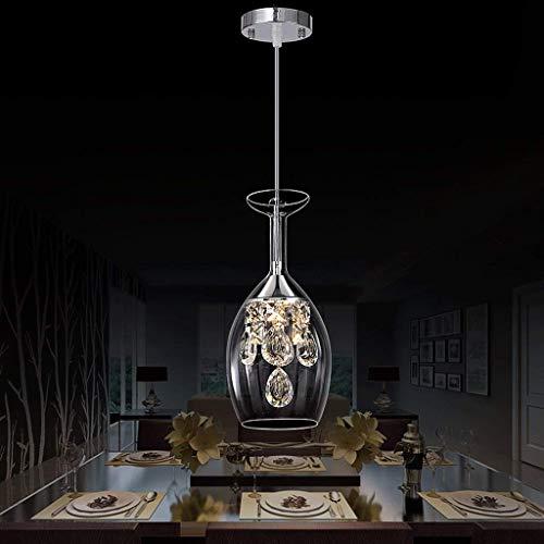 Lámpara de techo moderna de cristal con forma de gota de lluvia LED de montaje empotrado, lámpara colgante para comedor, baño, dormitorio, sala de estar, cristal transparente, color