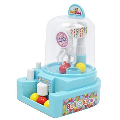 Fenteer Mini Spielautomat Süßigkeiten Automat Greifautomat Greifmaschine Spielzeug für Zuhause - Blau