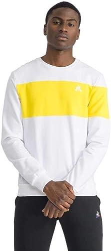 Le Coq Sportif Saison Sweat Léger Homme Blanc