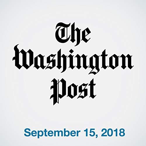 September 15, 2018 copertina