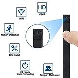 Telecamera Nascosta Spia WiFi TANGMI Mini Spy Cam 1080P HD Microcamere Spia Rilevamento del...