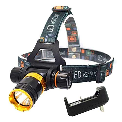 Linterna frontal Impermeable 3800 lúmenes XML T6 5 MODO Faro de buceo Faro de la luz de la cabeza de la cabeza de la cabeza de la cabeza de la luz de la lámpara de la lámpara de la lámpara de la lámpa