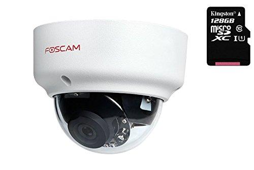 Foscam FI9961EP (met microSD-128 GB voorgeïnstalleerd) IP-camera PoE Full HD 1080p outdoor waterdicht (IP66) Vandal-Proof (IK10)