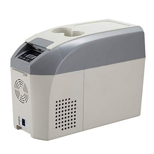 Nevera Portatil 10 litros Refrigerador del Congelador del Coche del Compresor, DC 12 / 24V, para Automóviles, Camiones, Vehículos Recreativos, SUV, Barcos, Función de Memoria de Apagado