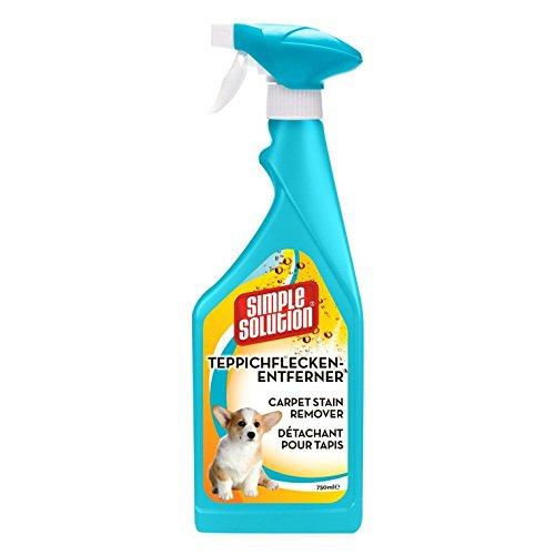 Semplice Soluzione Semplice Soluzione Arancione Oxy Charged Tappeto smacchiatore Spray–750ml