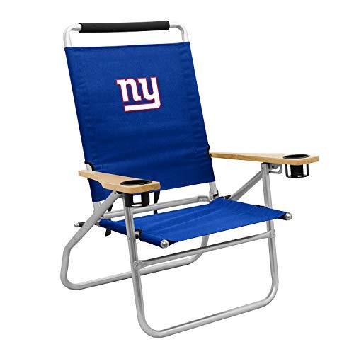 logobrands Retreat Cabana Strandkorb New York Giants, blau, Einheitsgröße