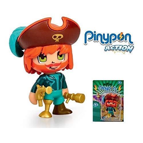 Pinypon Action - Figura Pirata (Famosa 700015581)