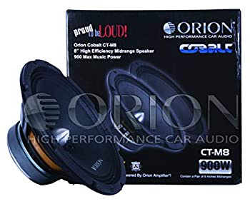 ORION Cobalt Series CT MIDRANGE CAR Audio CAR Stereo MID  CT-M8 / 8  4 OHMS