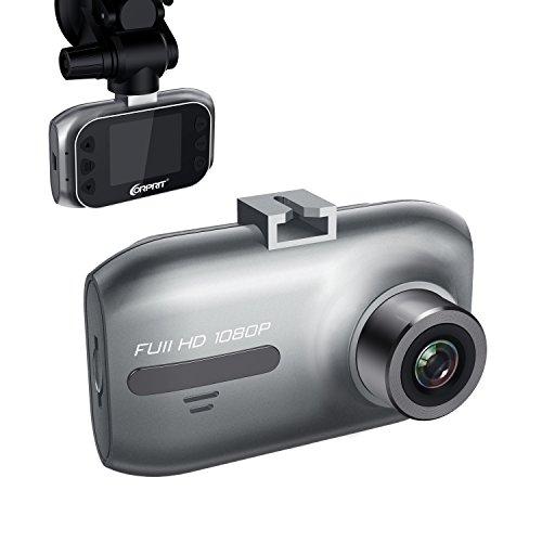 """Telecamera per Auto Dash Cam JEEMAK Full HD 1080P, Schermo 1.5"""", Mini Dashcam Grandangolo - Registrazione Continua, Capteur-G, Rilevazione di Movimento"""