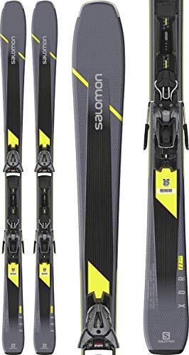 Salomon XDR 80 ST C Mens Skis 170 w/Z10 GW Bindings Mens Sz 170cm Grey/Black