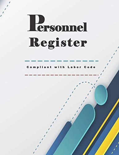 REGISTRE PERSONNEL: Compliant with Labor Code, For Professional Employees and trainees