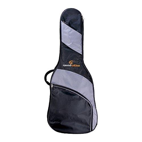 Soundsation PGB-5CG Custodia per chitarra classica 3/4,100x 41x 13cm, nero/grigio