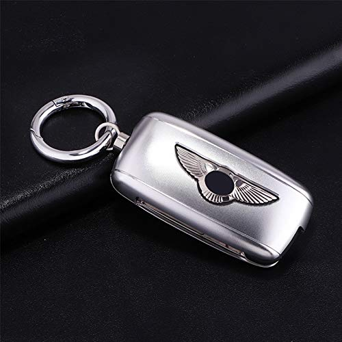 ZHANGERDAN Protector de bolsa de almacenamiento de carcasa de llave de coche de aleación de aluminio.Para Bentley Continetal Mulsanne Flying Spur Bentayga