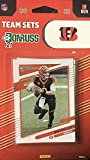 Cincinnati Bengals 2021 Factory Sealed 10 Card Team Set Featuring Joe Burrow and a Rated Rookie Card of Ja'Marr Chase. rookie card picture