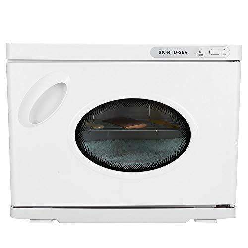 Huishoudelijke handdoekverwarmers, 23L grote capaciteit 2 in1 handdoekverwarmer Warme kasthanddoek Schone kast Nagelkunstgereedschap Warme kastmachine Automatische verwarming(EU)