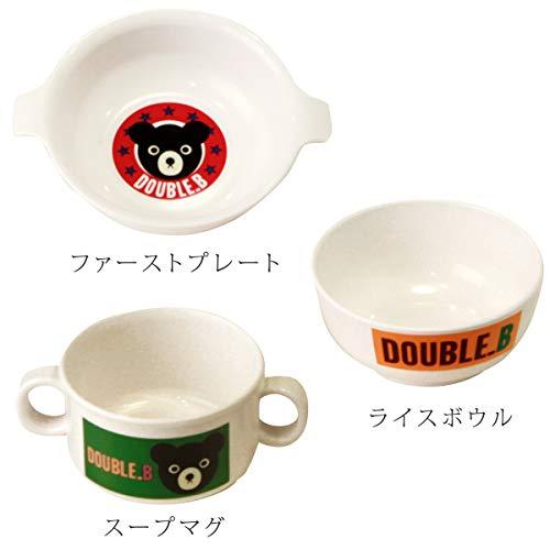 ミキハウスDOUBLE.B『テーブルウェアセット』