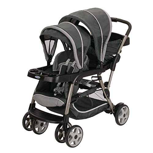 Graco Ready 2 Grow, Carriola Doble / Tándem, Color Glacier