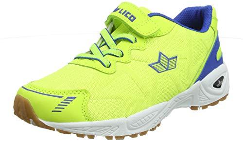 Lico Unisex-Erwachsene Flori VS Multisport Indoor Schuhe, Gelb (Lemon/Blau Lemon/Blau), 39 EU