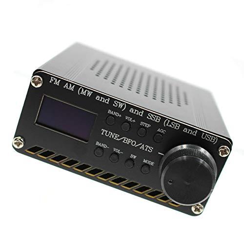 Receptor De Radio Multibanda Receptor De Radio Am FM Si4732 SSB Radio Aire Receptor Escáner Receptor De Radio Portátil De Mano Radio Recorder Negro