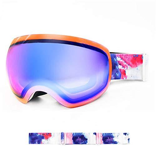 Anti-Fog Doppel-Objektiv Skibrille Windsicher Staub Snowboardbrillen Paar Winter Skifahren im Freien Anti-Nebel Schnee Googles Snowboarding Brillen