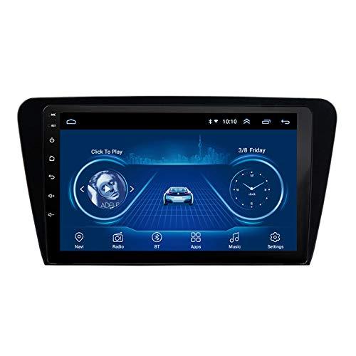 Benature Android Car Stereo Sat Nav para Skoda Octavia 2014-2018 Unidad Principal Sistema De Navegación GPS SWC 4G WiFi BT USB AUX Radio