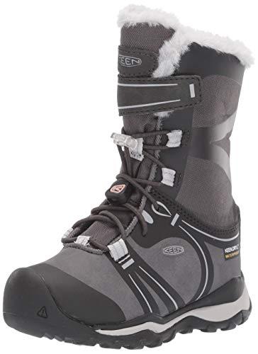 KEEN Unisex-Kinder Raven/Vapor Trekking- & Wanderstiefel, Schwarz (Terradora Winter Wp 1019790), 29 EU