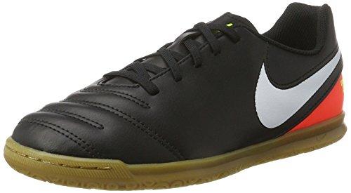 Nike 819196-018, Botas de fútbol Unisex Adulto, Negro (Black/White-Hyper Orange-Volt), 38 EU