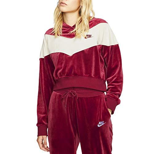 Desconocido Nike Sportswear Heritage Hose, Damen XS Team-rot/blass Elfenbein/blass Elfenbein/Team-rot