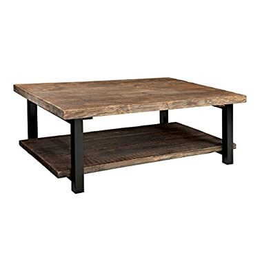 Alaterre AMBA1220 AZMBA1220 Sonoma Rustic Natural Coffee Table, Large, 48 , Brown