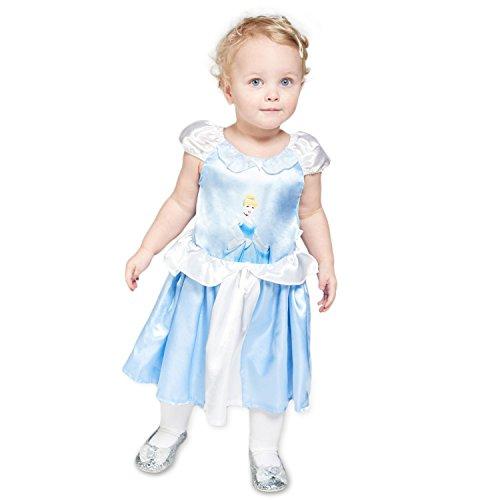 amscan- Cinderella Disney Déguisements, DCPRCING012, Multicolore, 12-18 Mois