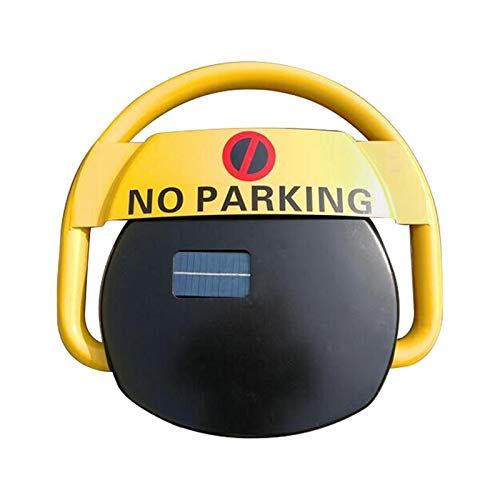 Parkplatzsperre Automatik Solarbetrieb - mit praktischer Fernbedienung - Alarm bei unbefugtem Parken - Parkbügel - Parkplatzwächter