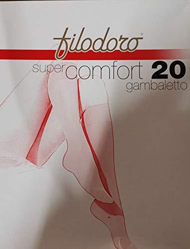 Filodoro Set 6hasta La Rodilla Super Confort 3/4Playa/Vi M/L calcetín de Mujer...