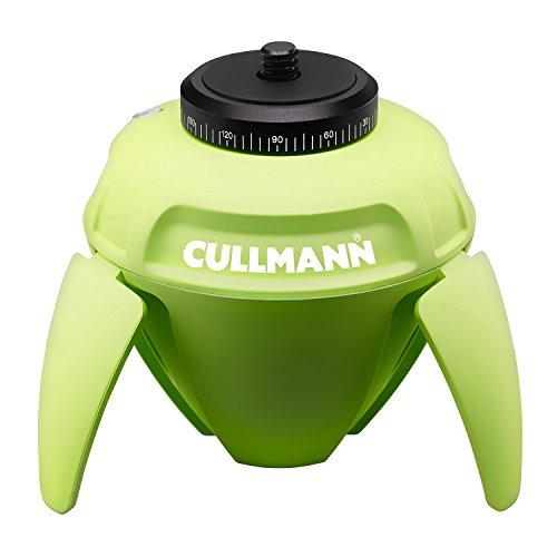 Cullmann 50221 - Rotula Giratoria Smart Pano 360, Color Verde