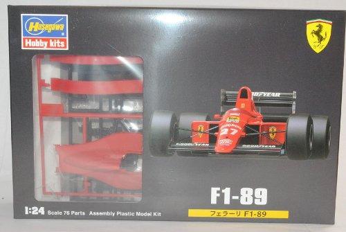 Hasegawa Ferrari F1-89 Formel 1 1989 Kit Bausatz 1/24 Modell Auto Modell Auto