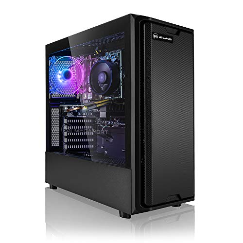 Megaport High End Gaming PC AMD Ryzen 7 2700 8 x 4.10 Turbo • Nvidia GeForce RTX 2060 6GB • 480GB SSD • 1TB HDD • 16GB DDR4 • Windows 10 • WLAN Gamer pc Computer Gaming Computer