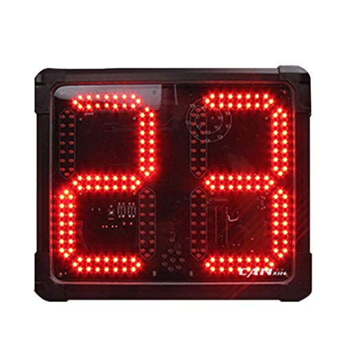 GAN XIN LED Shot Clock Programmable 14/24/30 Seconds Countdown for Basketball Game (GO2D-8R)