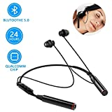 EEIEER Sleep Earbuds, Bluetooth 5.0 Wireless Headphones with Double batterys, 380 mAh 24 Hours Music time Sleeping Earphones for Side Sleeper, Sports, Gym, Running, Insomnia etc