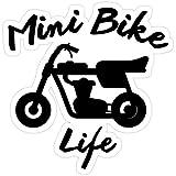 Stickers Mini Bike Life Decals Laptop (3 Pcs/Pack) Car Vinyl 3x4 Inch