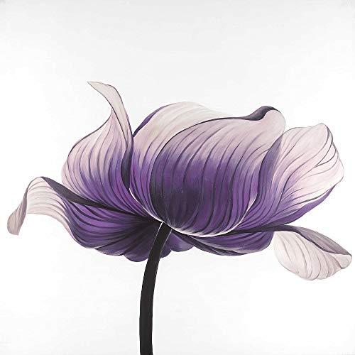 Find Discount BEGIN DECO MAISON - HOME DECOR 2080-2424-FL194-1 Purple Anemone Flower, Fine Art Galle...