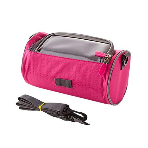 Lenkertasche Handy Halterung FüRs Fahrrad Fahrradzubehör Mountainbike-Zubehör Fahrradzubehör Fahrradzubehör Fahrrad Seitentasche Fahrradzubehör pink,Free Size