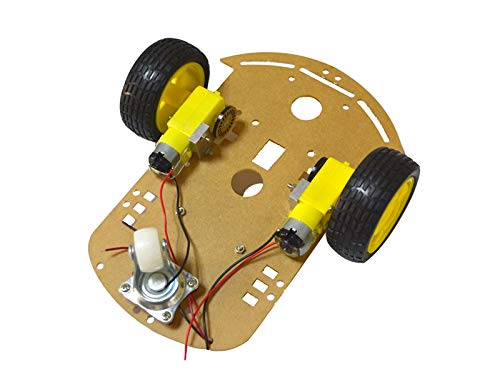 Intelligent Car Body Kit 2 Wheel 2WD Motor Robot Car Tachometer Encoder Chassis Kit for Arduino Science STEM Tech