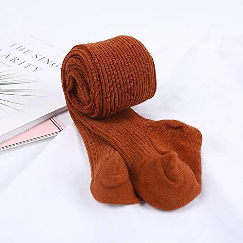 YEESEU Nuevo otoño Invierno del niño del bebé niños niñas de algodón Caliente Pantimedias Medias apretadas Ropa de Abrigo (Color : Red, Size : 4Y)