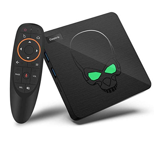 S922X TV Box , Android 9.0 TV Box, GT King tv Box Android 9.0 4gb ram 64gb, Amlogic S922X, Hexa-core, Support 2.4G 5.8G WiFi BT 4.1 4K 60fps 2.4G Voice Remote Control