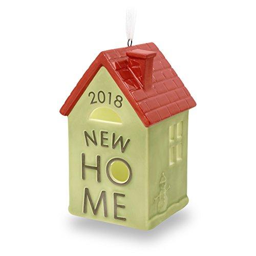 Hallmark Keepsake Christmas Ornament 2018 Year Dated New First Home Homeowner Gift Ceramic