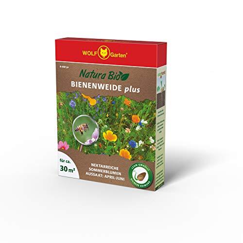 WOLF Garten N-BW 30 Saatgut-Mischung Bienenweide Plus, Rot, m²