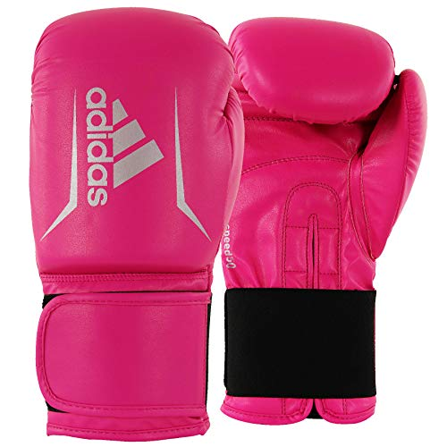 adidas Speed 50 Pink/Silver Boxing Gloves - 8oz
