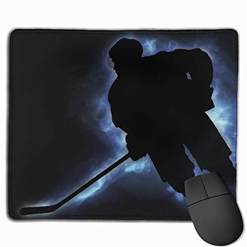 N\A Alfombrilla de ratón Suave Jugador de Hockey sobre Hielo Alfombrilla de ratón para juegos móvil Alfombrilla de ratón de Trabajo Alfombrilla de oficina
