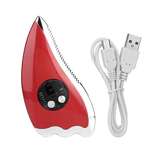 Duevin Microcurrent Grattage Masseur Lifting Du Visage Massage Électrique Rajeunissement De La Peau Dispositif De Beauté Augmente L'absorption De Sérum