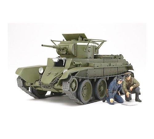 Tamiya Models BT-7 Russian Tank