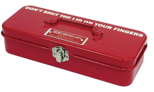 Mini Tool Box 艶やかな塗装が美しいシンプル&スタンダード ツールボックス (RED)